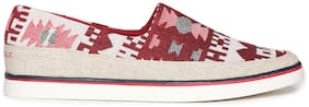 Aeropostale Men Red Casual Shoes