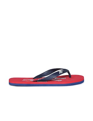 aa66e2a9f19c Buy Aeropostale Men Red Flipflop Online at Low Prices in India ...