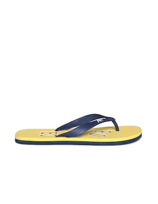 39f5a449e972 Buy Aeropostale Men Yellow Flipflop Online at Low Prices in India ...