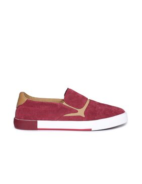 Aeropostale Men Red Casual Shoes - G8e8woytkuf