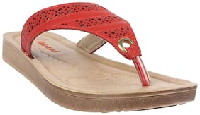 Aerowalk Zm01 Red Women Slipper