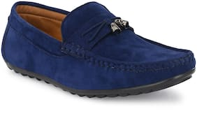 AFREET Men Navy Blue Loafers - JINGLE_BELL