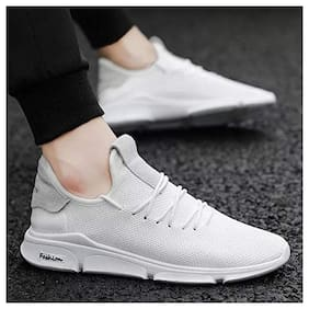 Afreet Fashion Casual Shoes For Men White 8