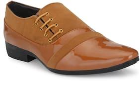 AFREET Men Beige Monk Shoes Formal Shoes - MONK_SHOES