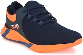 AFREET Men Supx Walking Shoes ( Orange & Blue )