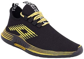 AFREET Men Yellow & Black Casual Shoes - CASUAL SPORT - 171