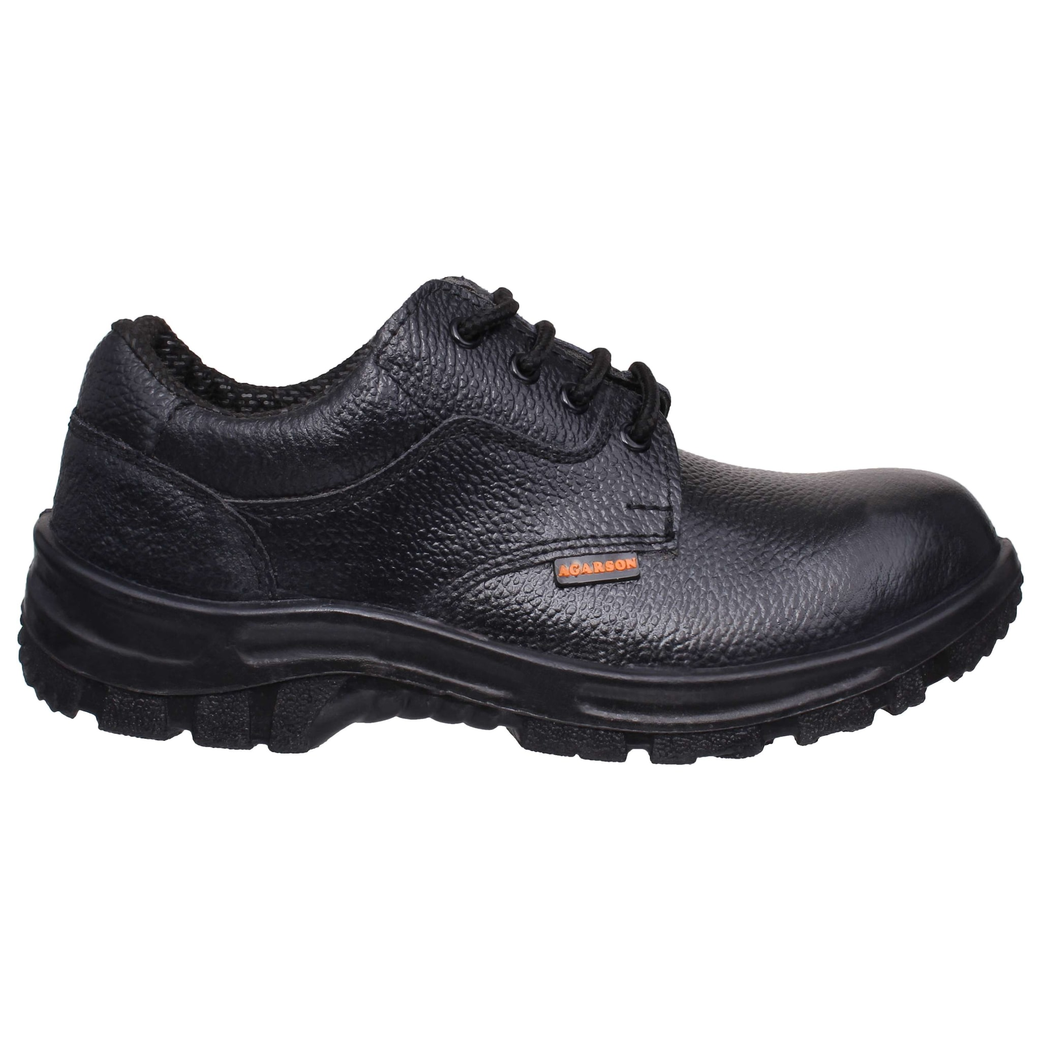 3c8301883533f0 Buy Agarson Men Black Boot - Ertiga-safetyshoes-01 Online at Low Prices in  India - Paytmmall.com