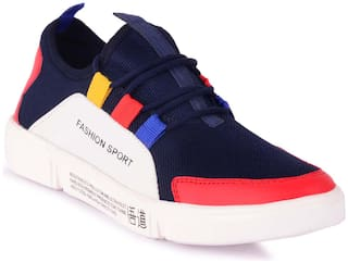 Agra Max Men Blue Classic Sneakers