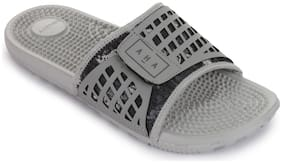 Liberty Men Grey Sliders - 1 Pair