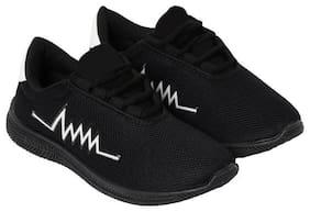 AIRBIRD Men Heartbeat Running Shoes ( Black )