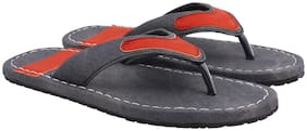 Aishwary Glams Men Grey Synthetic  Slippers