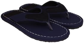 Aishwary Glams Men Blue Synthetic  Slippers