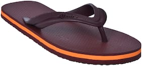 Ajanta Men Brown Flip-Flops - 1 Pair