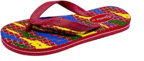 Ajanta Men Multi Flip-Flops -