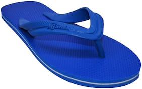 Ajanta Men Blue Flip-Flops - 1 Pair