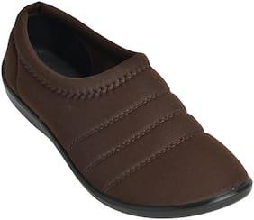 Ajanta Women Brown Sneakers