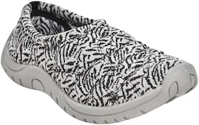 Ajanta Women Silver Casual Shoes