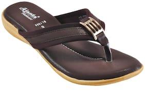 Ajanta Women Brown Sandals
