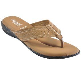 Ajanta Women's Classy Slipper - Beige