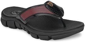 Alberto Torresi Mark Men's Black Slippers