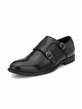 Alberto Torresi Men Black Formal Shoes - 59347