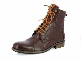 Alberto Torresi Men Maroon Boot - 62528