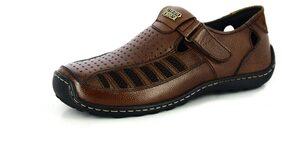 Alberto Torresi Brown Sandals