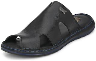 Alberto Torresi Men Black Outdoor slippers