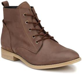 Alberto Torresi Women Brown Ankle length Boots