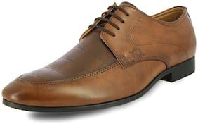 Alberto Torresi Men Brown Formal Shoes