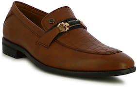 Men Tan Brogues Formal Shoes ,Pack Of 1 Pair