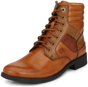 Alberto Torresi Men's Tan Ankle Boots