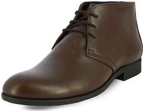 Alberto Torresi Men's Brown Ankle Boots