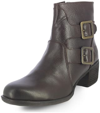 Alberto Torresi Women Brown Boot