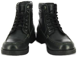 Alberto Torresi Ankle Boots For Men ( Black )