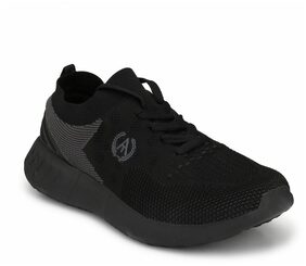 Alberto Torresi Men Black Running Shoes