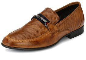 Alberto Torresi Men Tan Formal Shoes