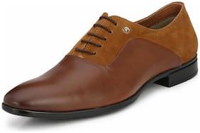 Alberto Torresi Men Tan Formal Shoes - 62201