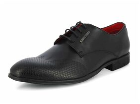 Alberto Torresi Men Black Formal Shoes