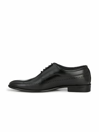 Alberto Torresi Men Black Formal Shoes - 62621