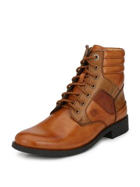 Alberto Torresi Men Tan Boot - 62295