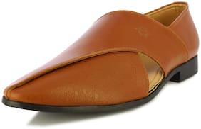 Alberto Torresi Men Tan Sandals