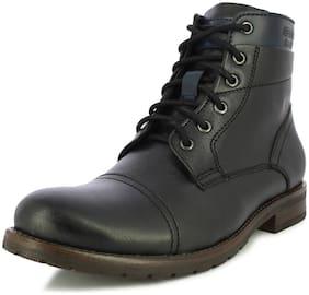 Men Black Outdoor Boots