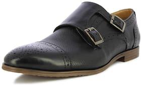 Alberto Torresi Men's Marfa Black Monk Formal Shoes