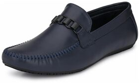 Alberto Torresi Men Navy Blue Loafer