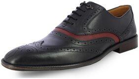 Alberto Torresi Men Black Formal Shoes