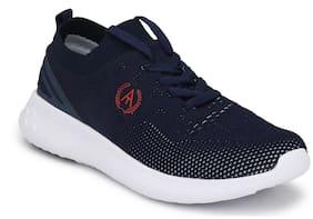 Alberto Torresi Men Blue Sneakers -