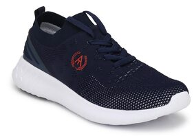 Alberto Torresi Men Blue Running Shoes