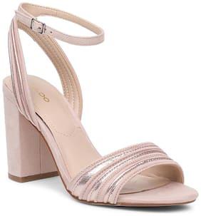 Aldo Women Pink Sandals