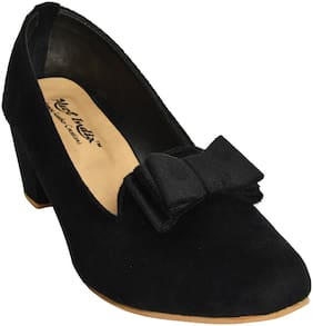 Alert India Footwear Women Black Bellie